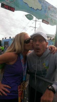 runDisney race announcer Rudy Novotny fitz koehler fitzness half marathon