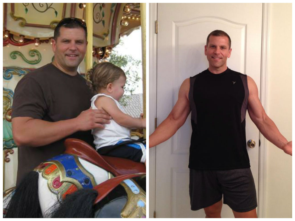 nick ferrara weight loss success story backlash before after picture fitzness