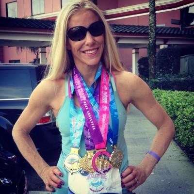 fitz princess 2014 four medals