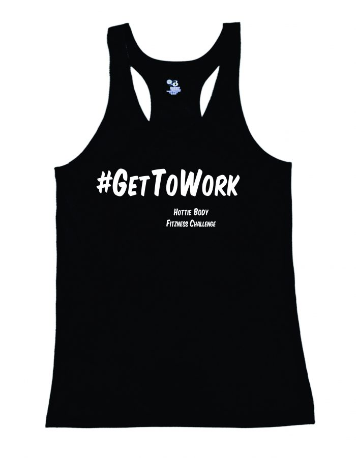 Get to Work Black Tank