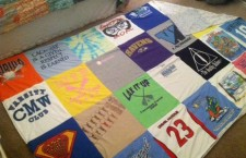 How to Make a Quilt out of Your Old Race Shirts and Jerseys!