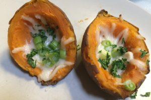 Recipe: Sweet Potato Skins