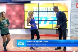 Fitz on The Daily Buzz: Your Winter Workout Strategy