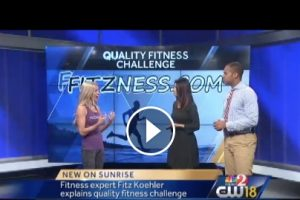 How to Choose a Quality Fitness Challenge - Fitz on NBC