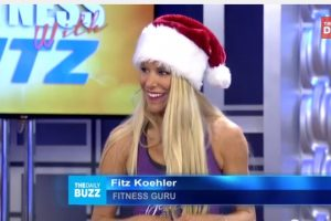 Healthy Holiday Plan of Attack! Fitz on The Daily Buzz
