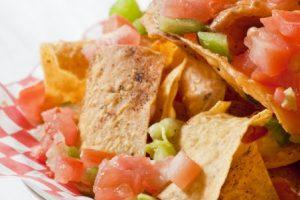 No-Guilt Mango Tomato Salsa Nacho Recipe