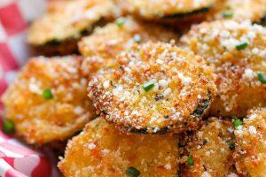 Recipe: Zucchini Parmesan Crisps
